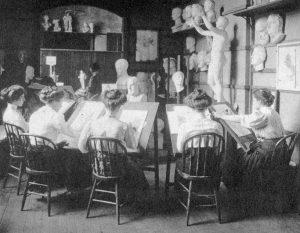 Yale_School_of_Fine_Arts_women_students